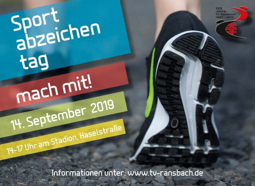Sportabzeichentag 2019 Ransbach-Baumbach ausgerichtet vom TV Ransbach