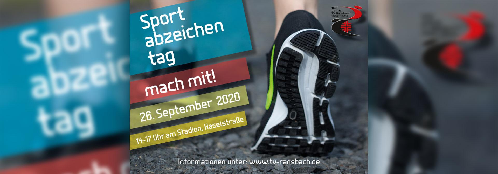 Sportabzeichen 2020 beim TV Ransbach