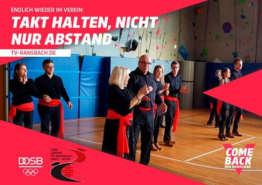 Tanzkurs beim TV Ransbach